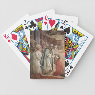 Filippo Lippi Disputation in the Synagogue Bicycle Poker Deck