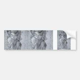 Filippo Lippi- Figure study Bumper Sticker