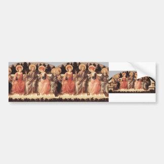 Filippo Lippi- Seven Saints Bumper Stickers