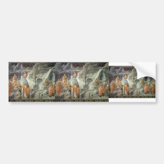 Filippo Lippi:St. John Taking Leave of his Parents Bumper Stickers
