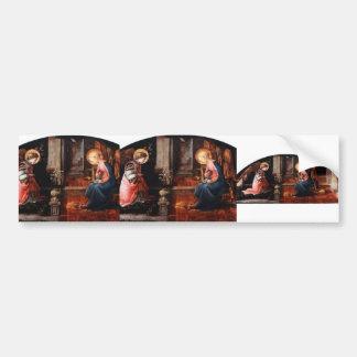Filippo Lippi- The Annunciation Bumper Stickers