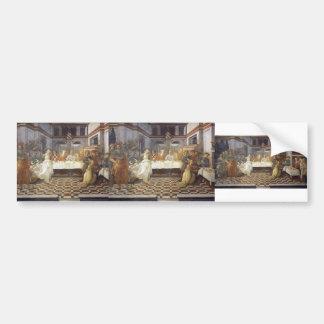 Filippo Lippi: The Feast of Herod: Salome's Dance Bumper Sticker