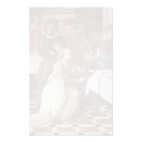 Filippo Lippi: The Feast of Herod: Salome's Dance Personalized Stationery