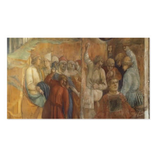 Filippo Lippi The Martyrdom of St Stephen Business Card