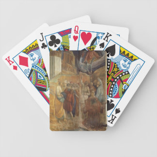 Filippo Lippi The Martyrdom of St Stephen Bicycle Poker Cards