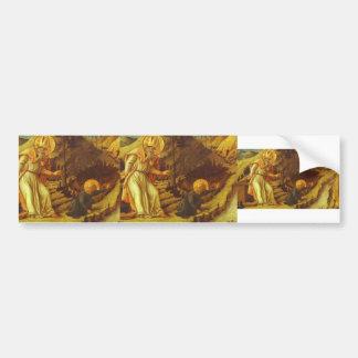 Filippo Lippi- The Vision of St. Augustine Bumper Sticker