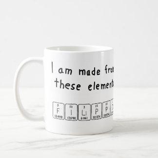 Filippo periodic table name mug