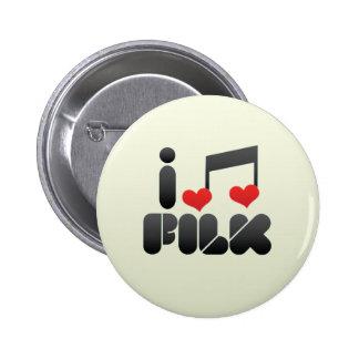 Filk Pinback Button