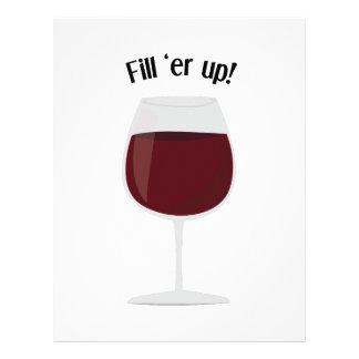 Fill 'Er Up! Letterhead Design