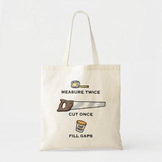 Fill Gaps Tote Bag