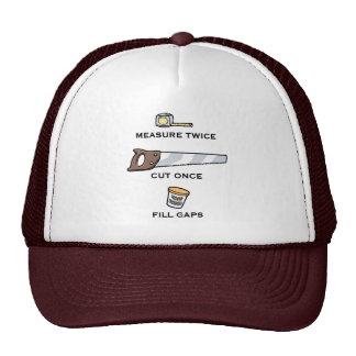 Fill Gaps Trucker Hat