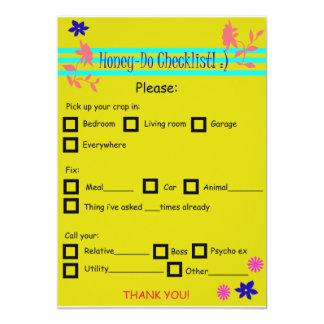 fill in honey-do list card