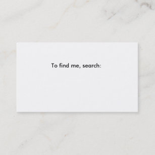 Blank business cards zazzle fill in the blank business card business card colourmoves