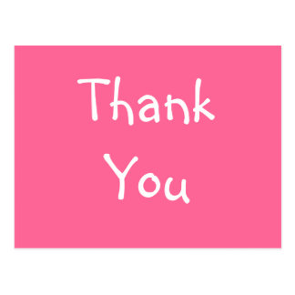 Fill-In-The-Blank Kid's Thank You Postcard