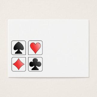fill in yourself biz card
