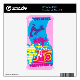 fill iPhone 4 decal - Customized