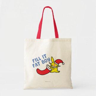 Fill It Fat Boy Tote Bag