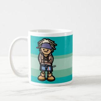 fill it with salt water. coffee mug