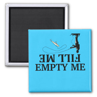 Fill me-empty me fishing Dishwasher Magnets