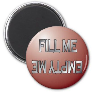 Fill me-Empty me red dishwasher magnet