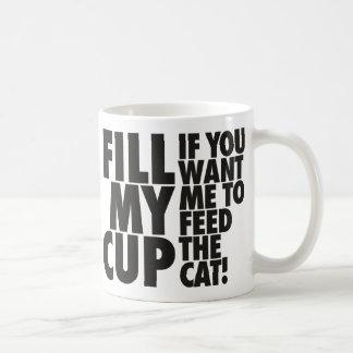 Fill My Cat Feeding Cup