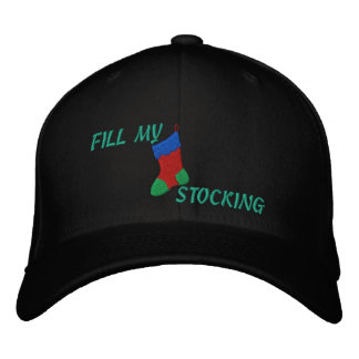 """FILL MY STOCKING"" Men's Christmas Cap"