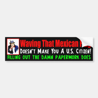 Fill Out The Paperwork! Bumper Sticker