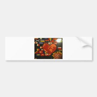 Fill The Earth With Love Bumper Sticker