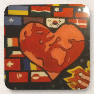 Fill The Earth With Love Coaster