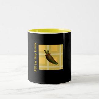 Fill to the brim Two-Tone coffee mug