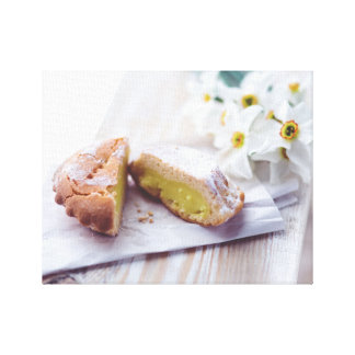 Fill with Cream Pastry Canvas Print