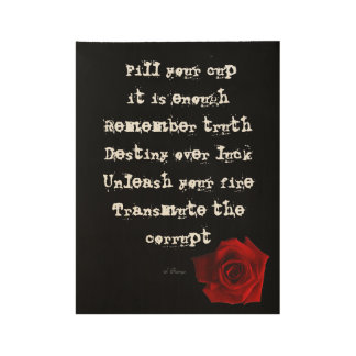 """""""Fill Your Cup..."""" Wall Art"""