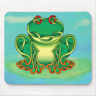 Filled Frog Mouse Pad