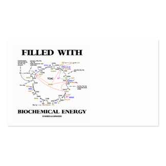 Filled With Biochemical Energy (Krebs Cycle) Business Card