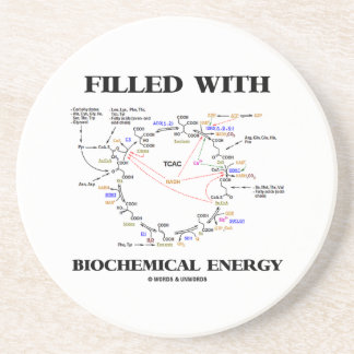 Filled With Biochemical Energy (Krebs Cycle) Coaster
