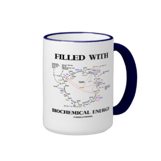 Filled With Biochemical Energy (Krebs Cycle) Coffee Mugs