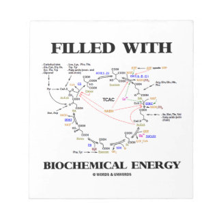 Filled With Biochemical Energy (Krebs Cycle) Notepad