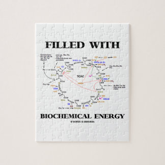 Filled With Biochemical Energy Krebs Cycle Puzzle