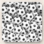 Filled With Soccer Balls Drink Coaster