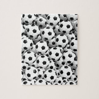 Filled With Soccer Balls Jigsaw Puzzle