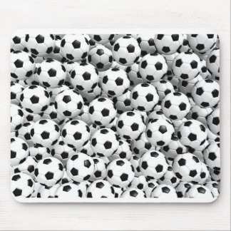 Filled With Soccer Balls Mouse Pad