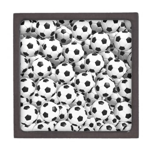 Filled With Soccer Balls Premium Trinket Boxes