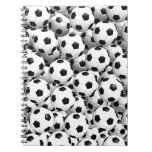 Filled With Soccer Balls Spiral Notebooks