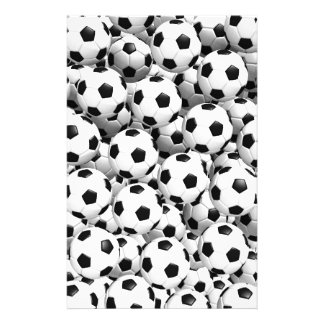 Filled With Soccer Balls Stationery