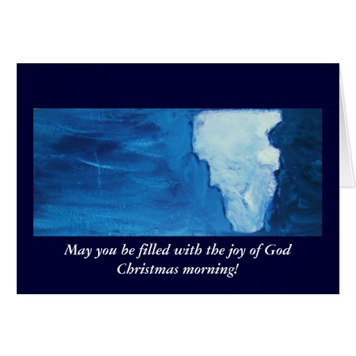 FILLED WITH THE JOY OF GOD GREETING CARDS
