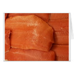 Filleted Salmon Greeting Card