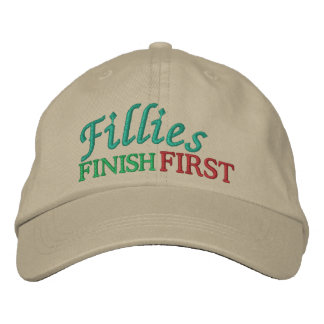 Fillies Finish FIRST - Horse Racing by SRF Embroidered Hats