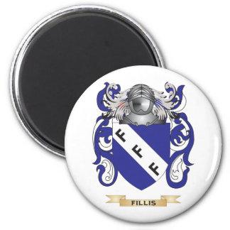 Fillis Coat of Arms Refrigerator Magnets