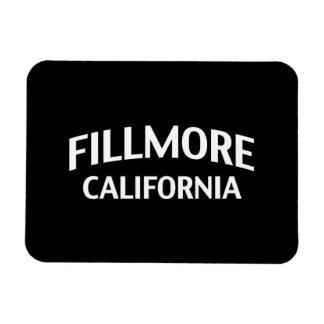 Fillmore California Imán De Vinilo