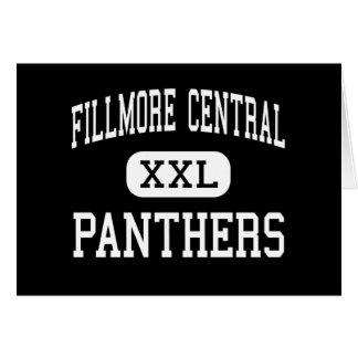 Fillmore Central - Panthers - High - Geneva Greeting Card